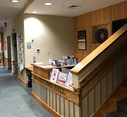 Boxford Town Hall renovation