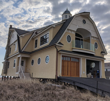 Salisbury MA oceanfront residential build