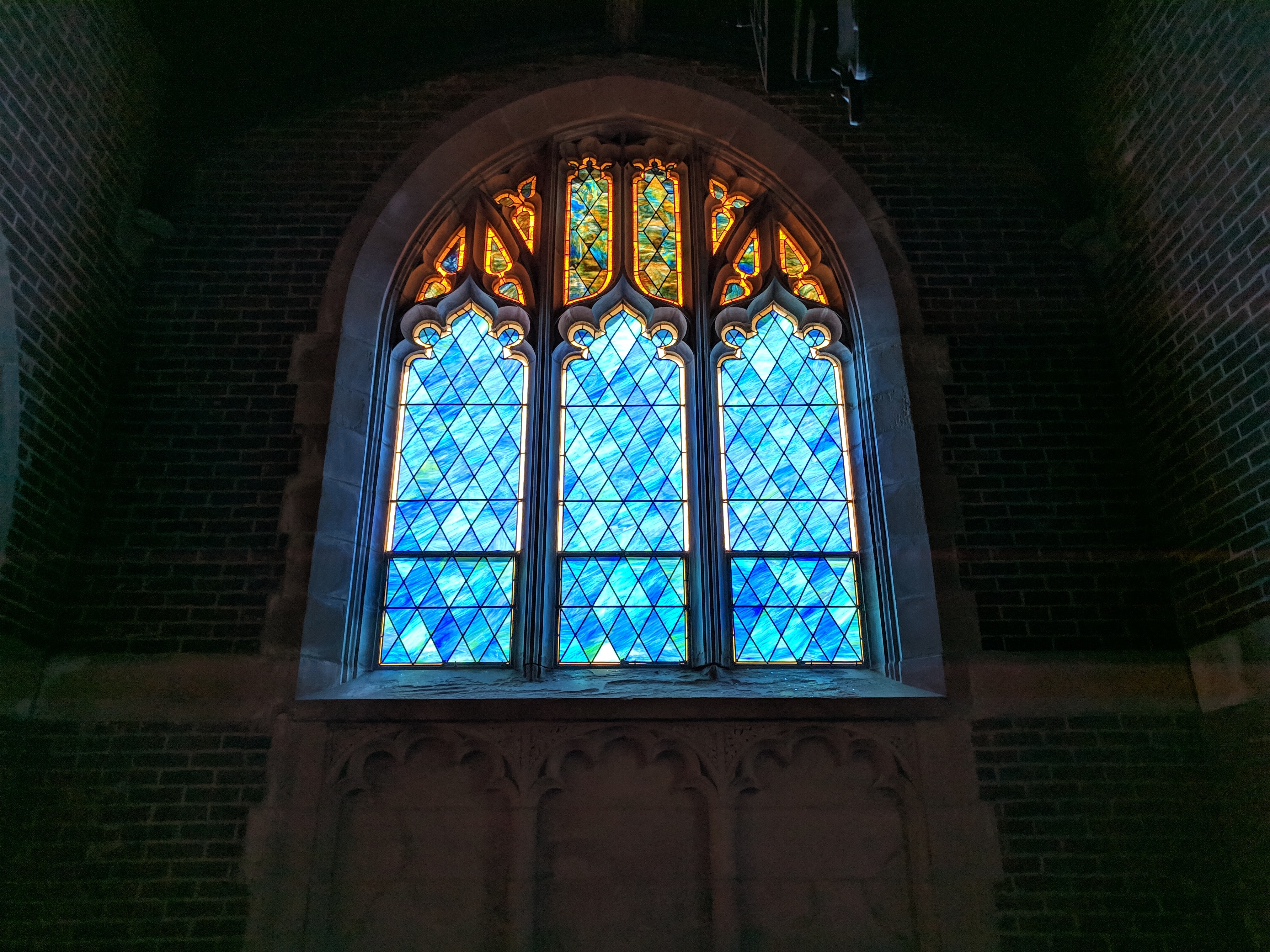 Chapel of St. Gabriel Stained Glass Window